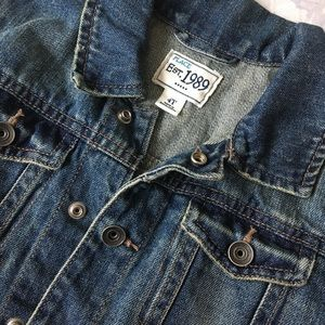 Like New Children's Place 4T Unisex Denim Jacket